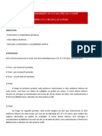 Regulamento Concurso de Leitura