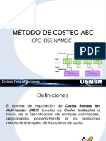 00 Método de Costeo ABC