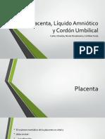 Placenta, Líquido Amniótico y Cordón umbilical.1.pptx