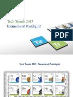 Deloitte Tech Trends 2013
