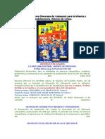 Textos Del Proceso Diocesano de Catequesis Para La Infancia y Preadolescencia
