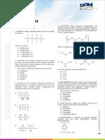 Exercícios de Polímeros