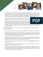 ACT - Agency Fact Sheet