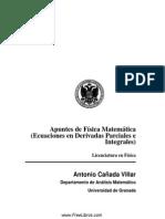 Apuntes de Física Matemática - Antonio Cañada Villar -Universidad de Granada