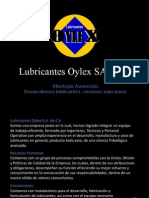 Carta de Presentacion Oylex 2014