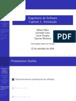 Apresentação para aula de Engenharia de Software