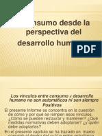 El Consumo Desde La Perspectiva Del Desarrollo Humano