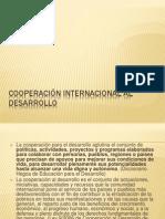 Cooperación Internacional Al Desarrollo