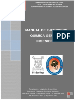 Manual de Ejercicios Química General Ingeniería 2014