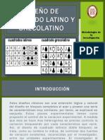 Diseño de Cuadro Latino y Grecolatino