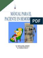 Manual para pacientes en Dialisis
