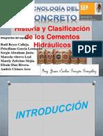 Clasificacion de Los Cementos Hidraulicos