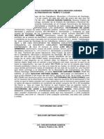 Acta Autentica Contentiva de Declaracion Jurada Beltran Ll