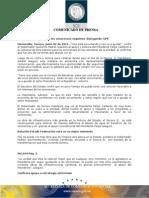 """02-06-2011  Guillermo Padrés en entrevista dijo que el presidente Felipe Calderón """"nos esta escuchando y nos va a ayudar"""" respecto al apoyo y postura a su solicitud de libre transito para los sonorenses en las carreteras de la entidad. B061104"""