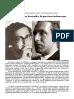Julius Evola Adriano Romualdi e La Questione Indoeuropea