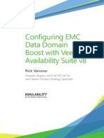 Configuring EMC Data Domain Boost with Veeam availability suite v8 2014
