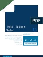 Telecom Sector India