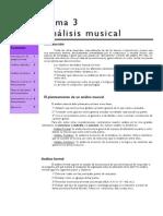 Tema 3 Analisis Musical
