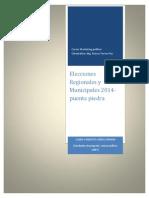 Elecciones Municipales Puente Piedra