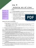 Tema 4 Música en El Cine