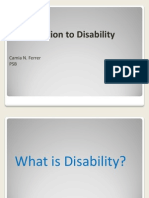 psb introduction to disability