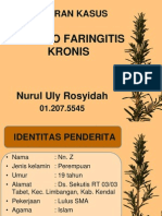 Uly Ppt Tht Tonsilitis Kronis