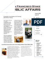 SF Stake PA Newsletter - August 2014