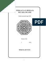 makalah pergaulan remaja secara islami
