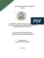 CLIMA ORGANIZACIONL Y ATISFACCION LABORAL.pdf