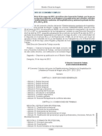 Convenio Sanitario 2011-2013