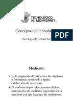 Conceptos de Medicion
