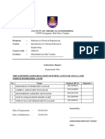 Chemical Reaction Engineering 40 L CSTR Saponification