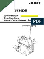 Service Manual Juki MO735 ENG