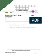 JUJ Pahang 2014 Math SPM K1 Set 2