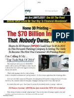 DPSM - pump and dump promotion
