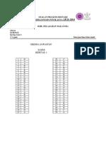 JUJ Pahang 2014 Science SPM K1 Set 1 Skema