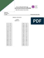 JUJ Pahang 2014 Science SPM K1 Set 2 Skema