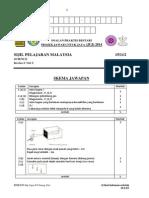 JUJ Pahang 2014 Science SPM K2 Set 2 Skema