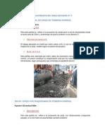 Excavacion y Desmontaje de Tuberia Existente