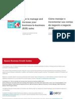 B2B Como Manejar e Incrementar Sus Ventas de Negocio a Negocio