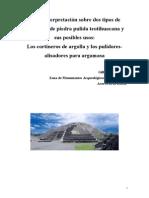 Cortineros teotihuacanos