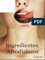 Ingredientes Afrodisiacos - Lulu Sanz