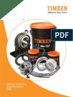 Manual Rodamientos Timken