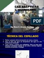 Procedimientos y Tecnivas Asepticas en Quirofano