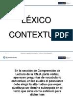 Léxico Contextual