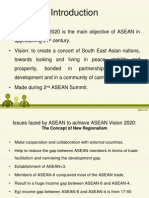 DISCUSS ISSUED FACED BY ASEAN IN ORDER TO ACHIEVE VISION    2020.