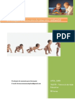 UFCD 3283 Evolução e Desenvolvimento Infantil Índice