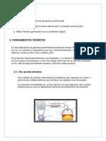 MEDIDICIÓN DE TENSIÓN Y RESISTENCIA ELÉCTRICA (INFORME LABORATORIO)