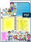 Singular Plural Nouns for beginner