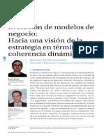 Evolución Modelo de Negocio(Demil&Lecocq2009)